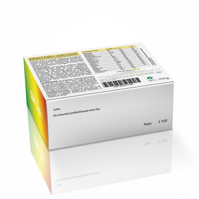packaging-prodotti-integratori-alimentari-Realizzazione grafica-logo-immagine coordinata-studio-grafico-cassino-formia-web-design-siti-web-mobile-app-pubblicità-volantini-marketing-fotografia-fotografo-cataloghi-